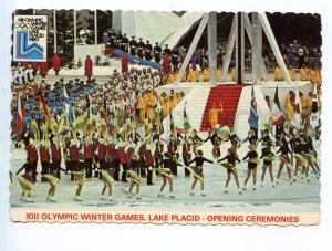 250918 USA Olympic winter Games Lake Placid opening Old photo