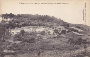 L'ARGONNE, La CHALADE, (Le sPlagneux) avant la Guerre 1914-1918, Alsace, France