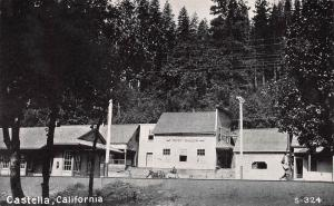 Castella, California, Early Postcard, Unused