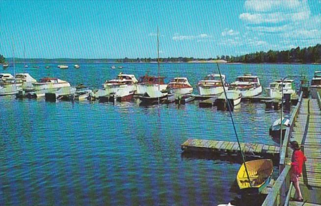 New York Scanadaga Boat Docks