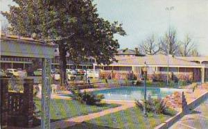 Tennessee Memphis The Beautiful New Town Park Motor Hotel 1955