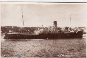 RP: UK Steamer S.S. ST. HELIER , 1953