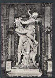 Italy Postcard - Rome / Roma - Museo Borghese, Plutone Rapisce Proserpina RR6755