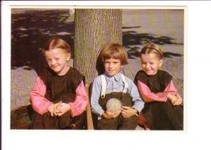 Amish Country, Children, Pennsylvania, Photo Marshall Dussinger