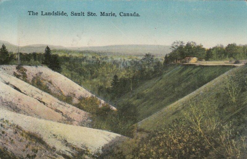 SAULT STE. MARIE , Ontario , Canada , 1925; The Landslide