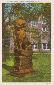 New York Schenectady The Idol Union College Curteich