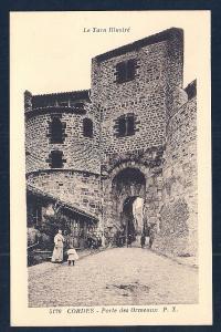 Abalone Gates Cordes Tarn France unused c1920's