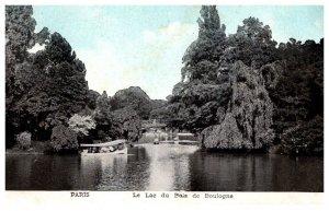 France  Paris Le lac du Bois de Boulugne