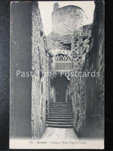 Vintage PC - Jersey - Entrance Mont Orgueil Castle