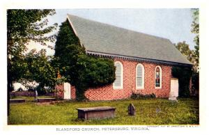 Virginia  Jamestoen Exposition 1907,   Blandford Church