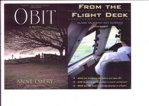 OBIT by Anne Emery, From the Flight Deck by Doug Morris Advertising Book Launch