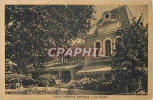 Old Postcard Vals les Bains (Ardeches) casino