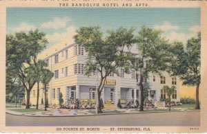 Florida St Petersburg The Randolph Hotel and Apartments Curteich sk421