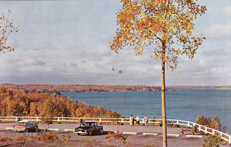 Lake Nipissing, Lookout, NORTH BAY, Ontario, Canada, 40-60´s