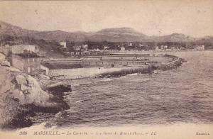 La Corntche, Les Bains du Roucas-Blanc, Marseilles, Bouches-du-Rhone, France,...