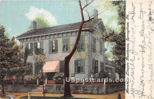 Abraham Lincoln Residence - Springfield, Illinois IL