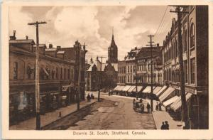 Downie St. South Stratford Ontario ON Ont c1914 Antique Postcard E19