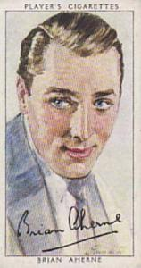Players Cigarette Cards Film Stars Third Series No 1 Brian Aherne