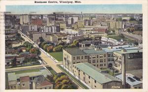 WINNIPEG , Manitoba , Canada , 1928 : Business Centre