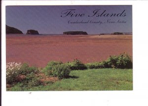 Triassic, Jurassic, Five Islands,  Nova Scotia, Canada, Fossil Rocks