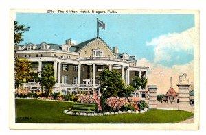 Canada - Ontario, Niagara Falls. The Clifton Hotel