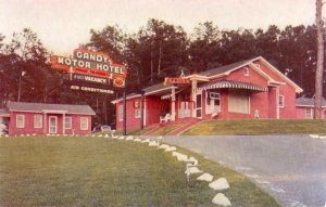 GANDY MOTOR HOTEL, TALLAHASSEE, FL. on U.S. 90 An Alonsett Motor Hotel