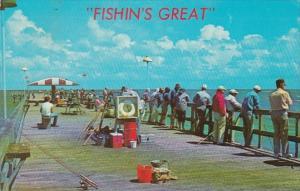 Florida Fort Lauderdale Fishing Pier 1979