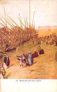Boats on the Nile Egypt, Egypte, Africa Unused