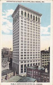 Lexington Street Building, BALTIMORE, Maryland, 10-20s