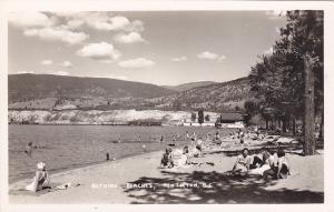 RP, People Bathing on Beaches, Penticton, British Columbia, Canada, 20-40´s
