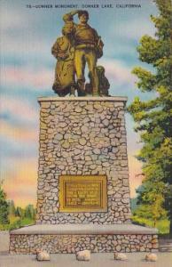 Donner Monument Donner Lake California