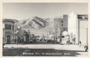 RP: WINNEMUCCA , Nevada , 1930-40s ; Bridge Street
