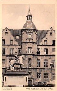 Altes Rathaus mit Jan Wllen Disseldorf Germany 1952