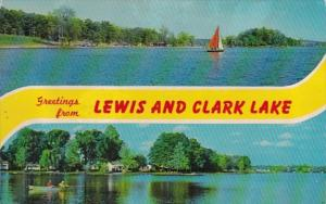 Nebraska Greetings From Lewis and Clark Lake