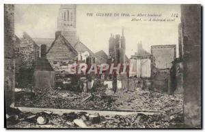 Postcard Old Albert Bombard Army
