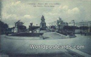 Parque y Mto a Luz Caballero Habana Republic of Cuba Unused