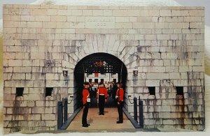 Fort Henry Windsor Kingston Ontario Canada Vintage Postcard