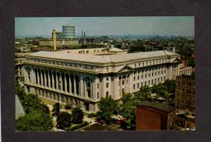 NJ US United States Post Office Newark New Jersey Postcard