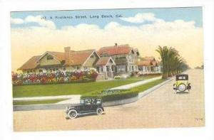 A Residence Street, Long Beach, California, 1900-1910s