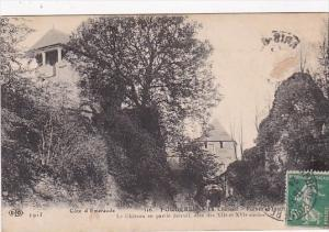 Fraance Fougeres Le Chateau Ruines Interieure 1913