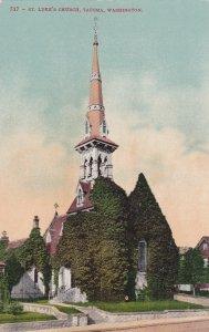 TACOMA , Washington, 1900-10s ; St Luke's Church, version 2
