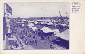 Typical View of the New York State Fair Grounds, Syracuse, New York, 10-20s