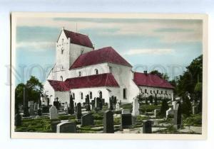 205156 SWEDEN Dalby Dalby church cemetery photo