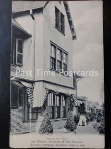c1906 - Villanova, Bay Window, Brockie & Hastings, Architects Philadelphia PA