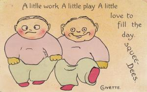 SQUEE-DEES; A little work, A little play, A little love to fill the day. 00-10s