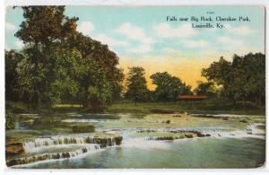 Falls near Big Rock, Cherokee Park, Louisville KY