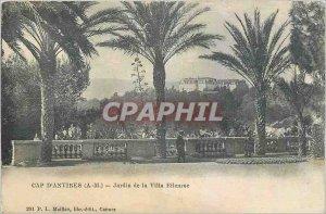 Old Postcard Cap d'Antibes AM Garden Villa Eilenroc
