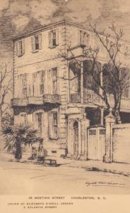 CHARLESTON, South Carolina, 1910-20s; 18 Meeting Street