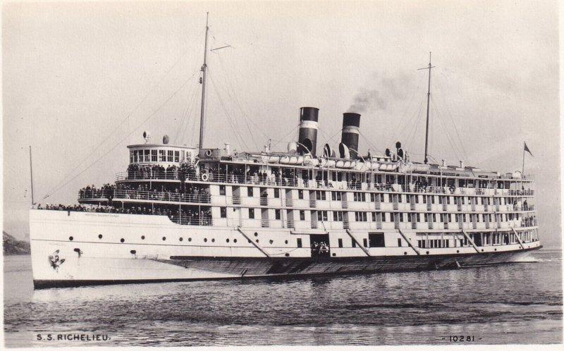 RP; CANADA, 1930s; S.S. Richelieu