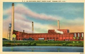 FL - Panama City. Southern Kraft Paper Plant